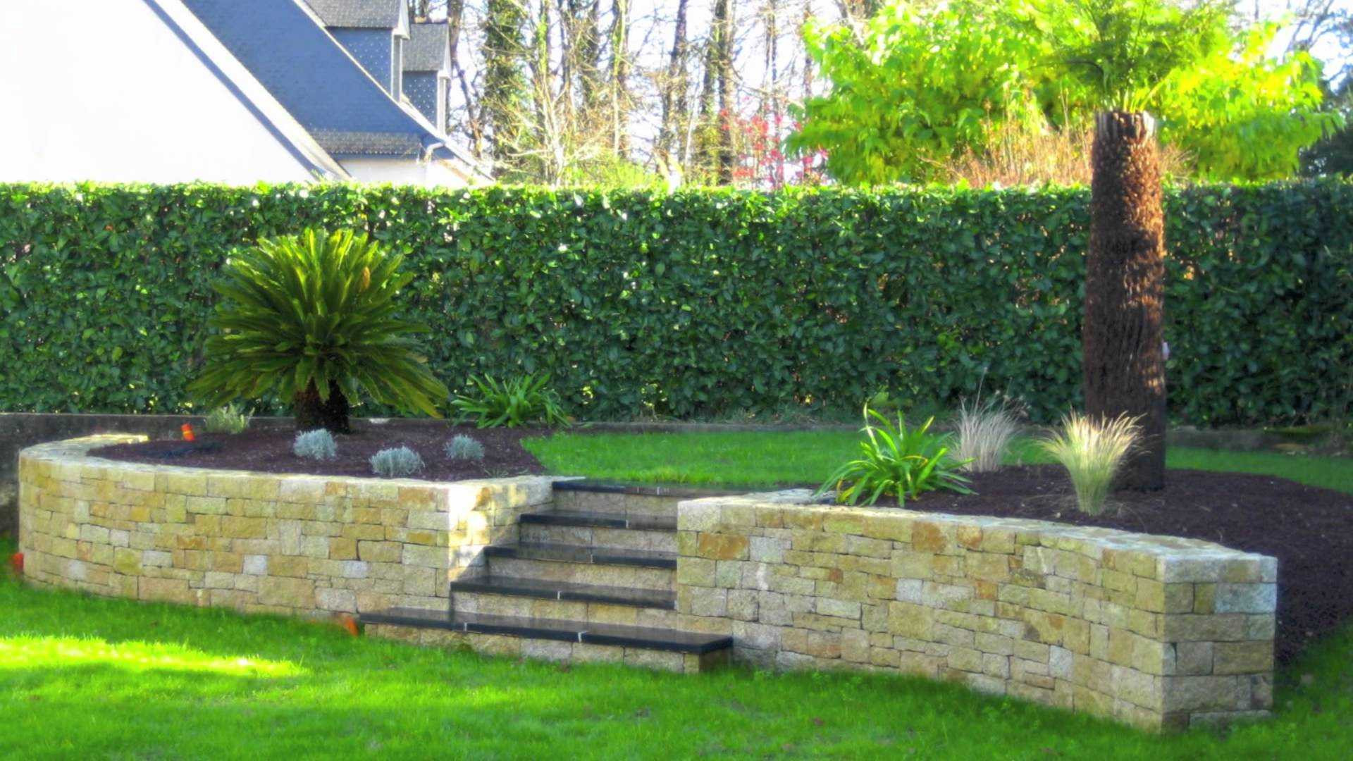 Amenagement jardin terrain en pente - Amenagement de jardin ...