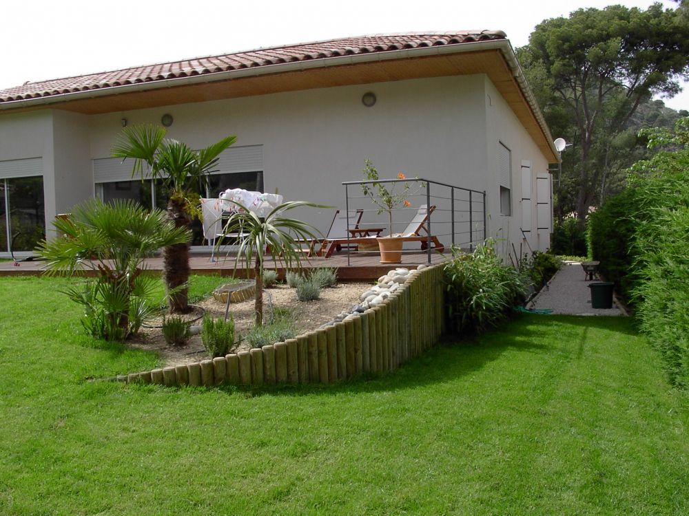 amenagement jardin terrain pentu