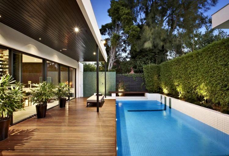 amenagement jardin terrasse piscine