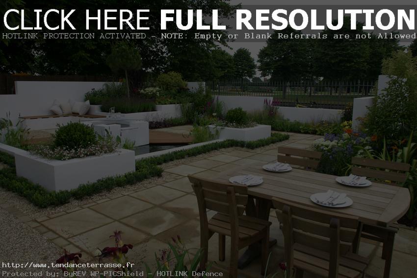 amenagement jardin terrasse