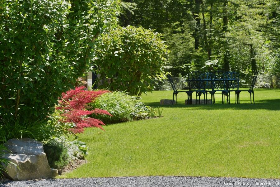 amenagement jardin tout en longueur