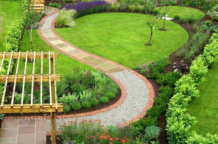 amenagement jardin triangulaire