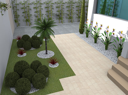 amenagement jardin tunisie