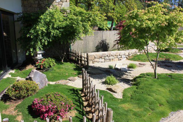 amenagement jardin zen japonais