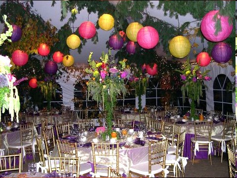 decoration exterieur anniversaire