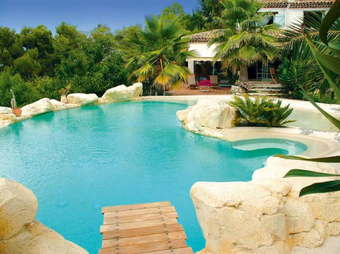 decoration exterieur autour piscine