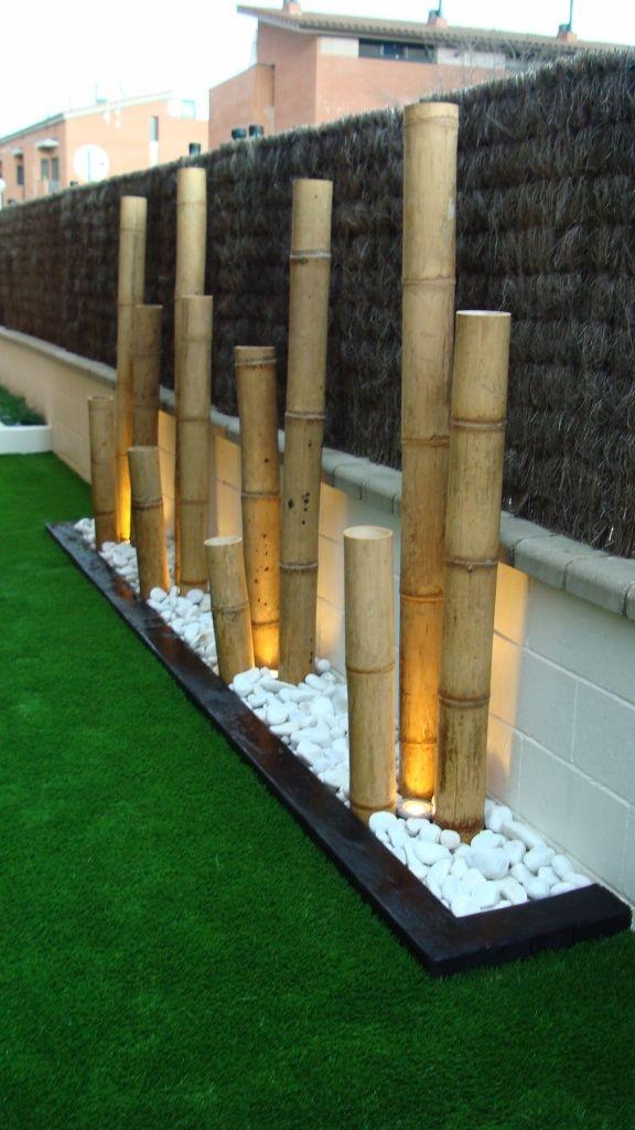 decoration exterieur bambou