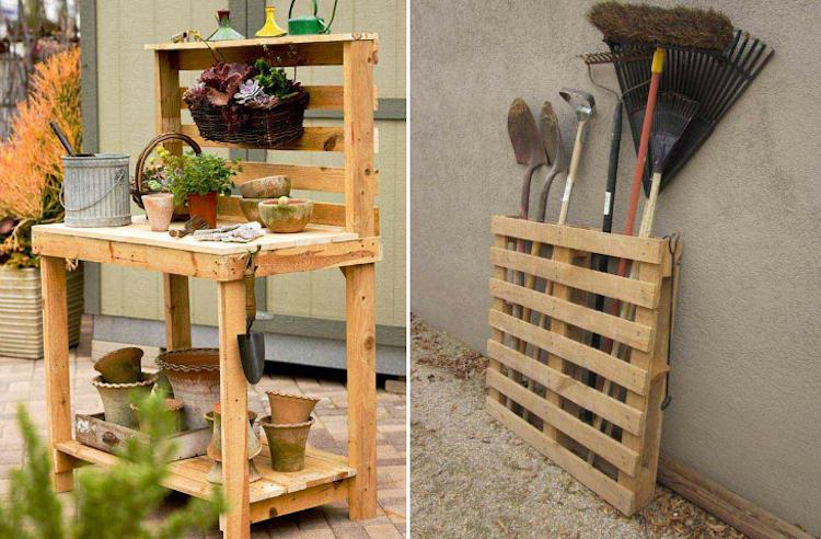 Decoration exterieur bois - Decoration de jardin a fabriquer ...