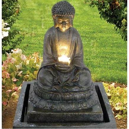 decoration exterieur bouddha