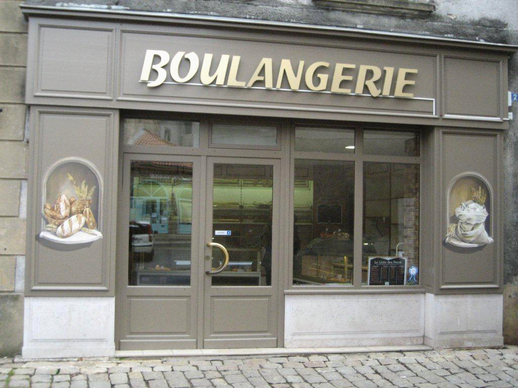 decoration exterieur boulangerie