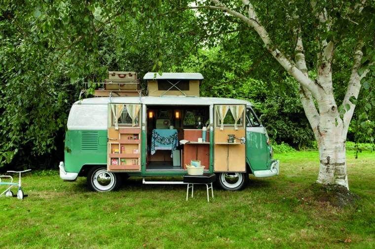 decoration exterieur caravane