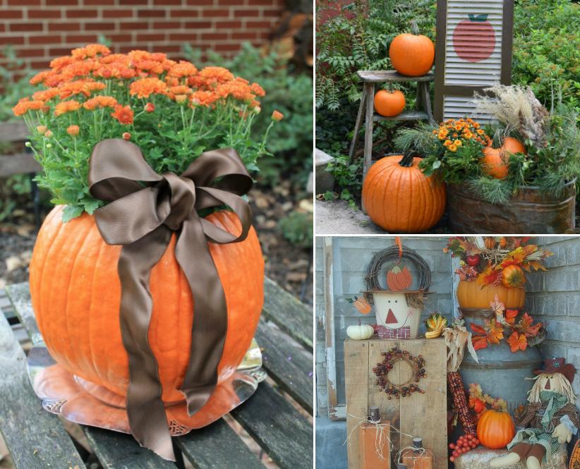 decoration exterieur d'automne