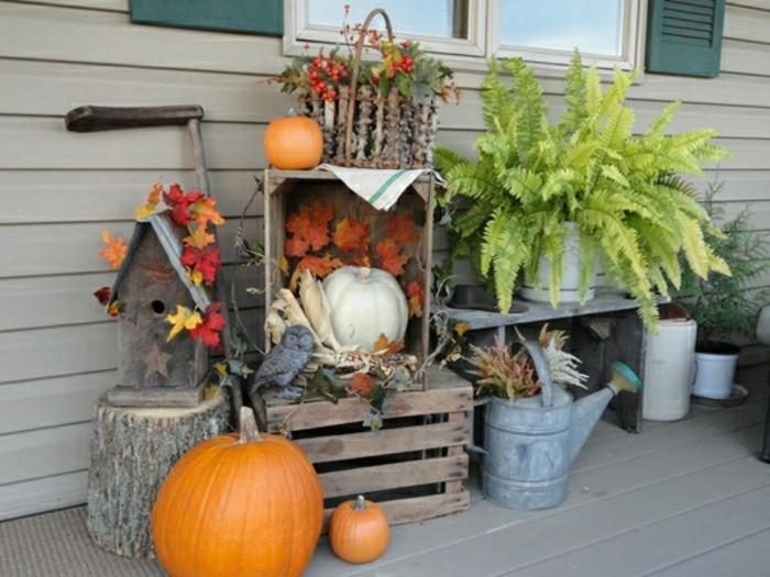 Decoration exterieur d 39 automne - Decors halloween a faire soi meme ...