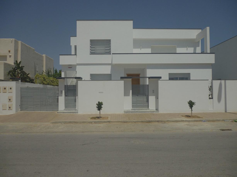 Decor cloture villa