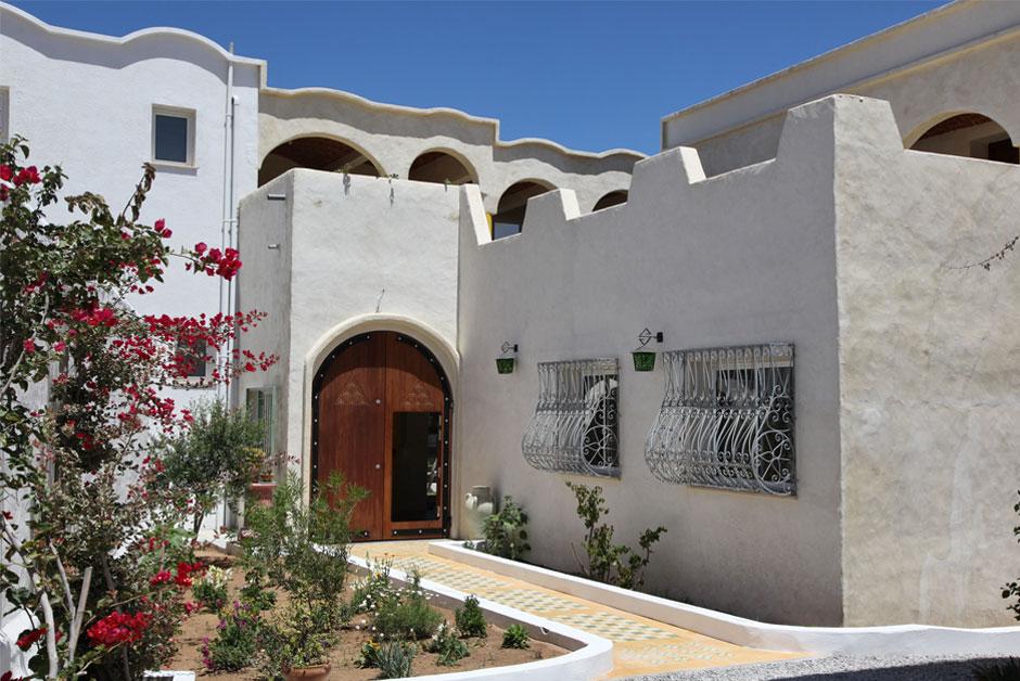 decoration exterieur de maison en tunisie