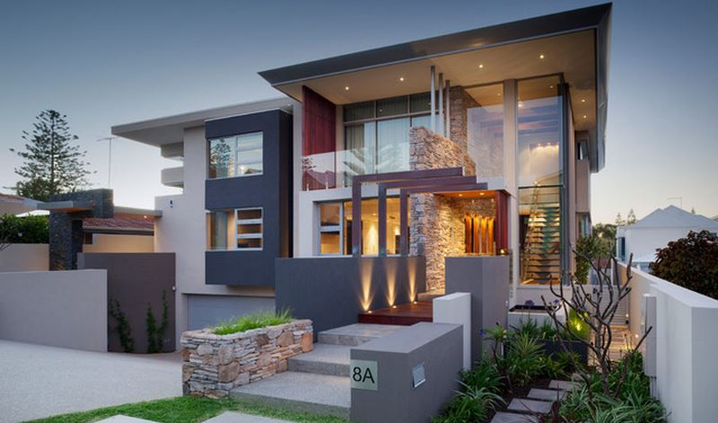 Stunning Decoration Facade Maison Exterieur Images - Design Trends ...