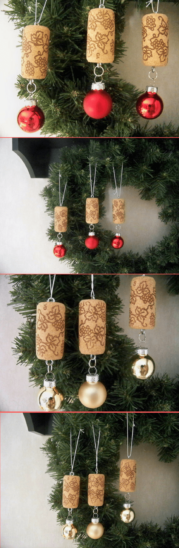 Decoration exterieur de noel a faire soi meme - Decoration de noel pour table a faire soi meme ...
