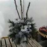 decoration exterieur de noel avec bouleau