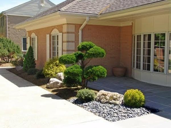 Décoration exterieur maison jardin