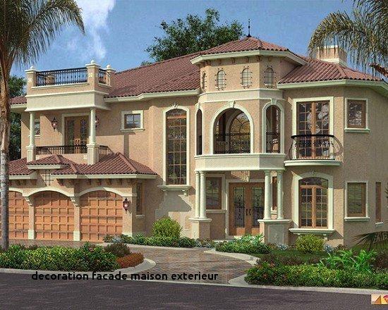 decoration exterieur facade maison