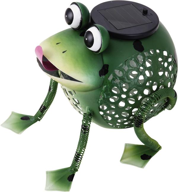 decoration exterieur grenouille