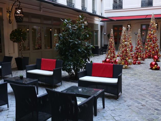 decoration exterieur hotel