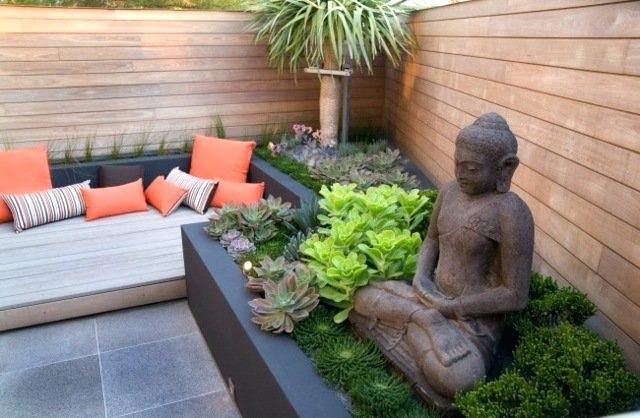 decoration exterieur jardin zen pierre