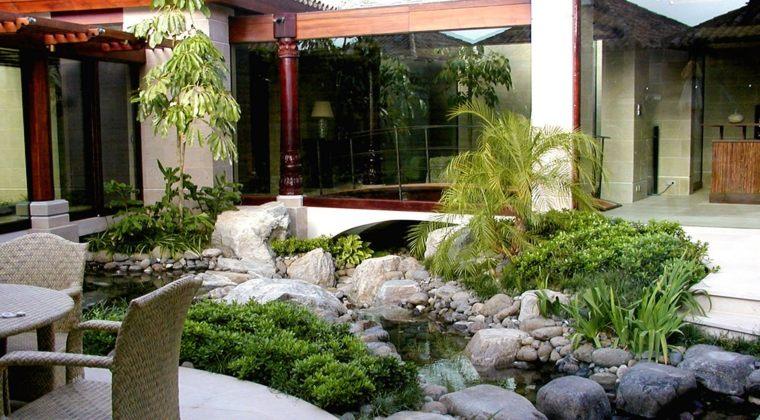 decoration exterieur jardin zen
