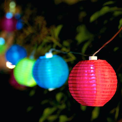 decoration exterieur lumineuse