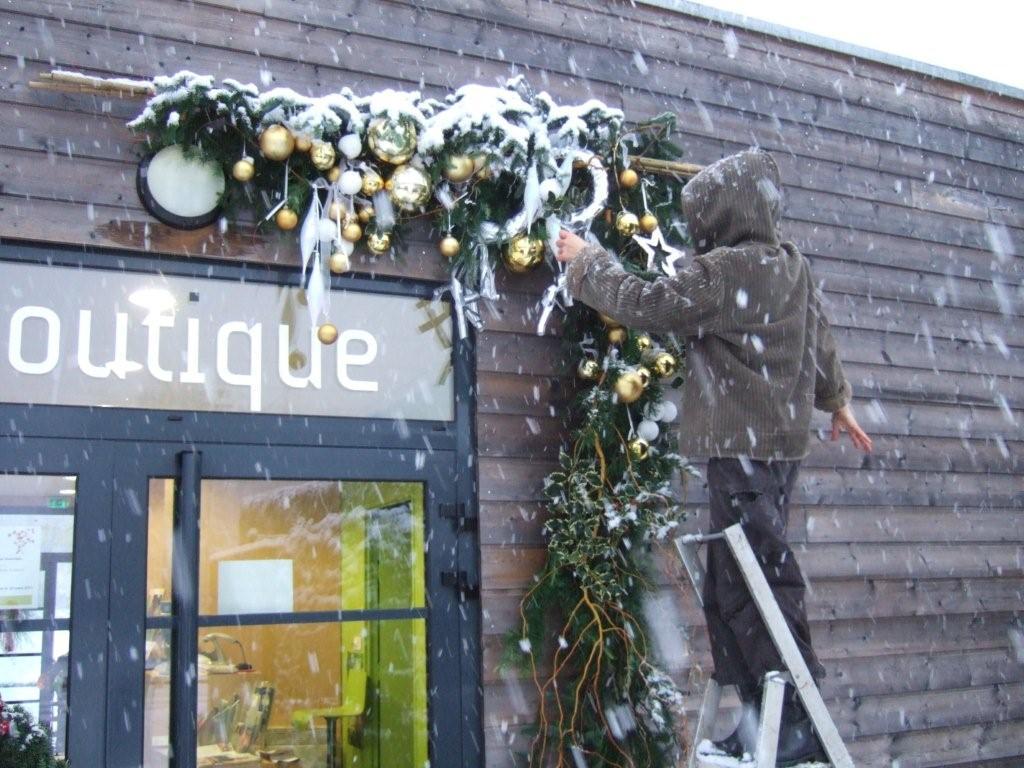 decoration exterieur magasin