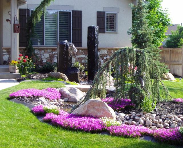decoration exterieur maison jardin