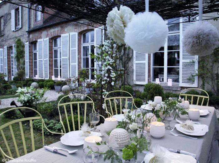 decoration exterieur maison pour mariage