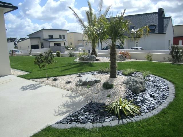 Decoration exterieur massif - Amenagement exterieur jardin moderne ...