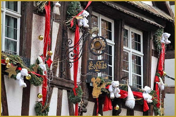 Decoration Exterieur Noel Alsace