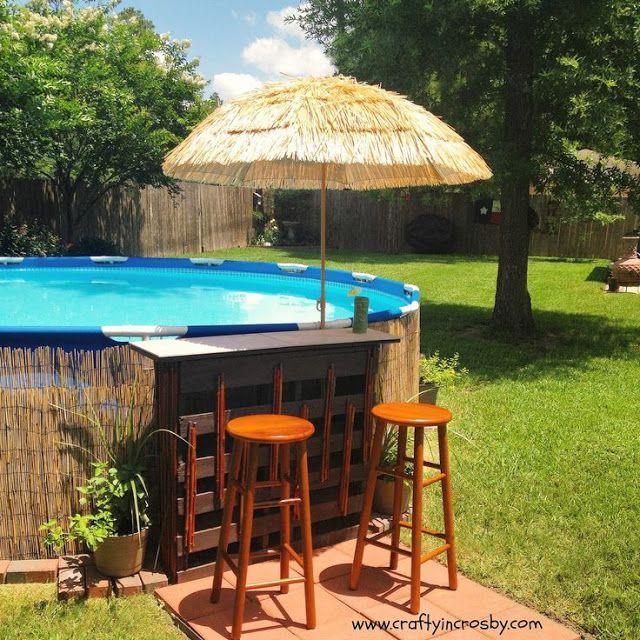 decoration exterieur piscine hors sol