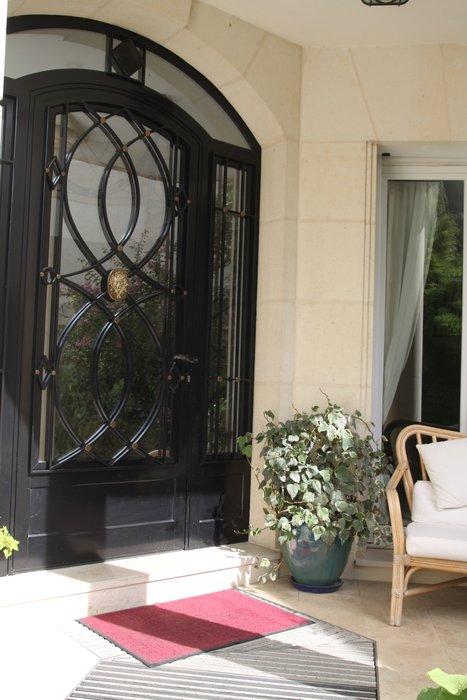 decoration exterieur porte d'entree