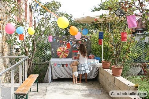 decoration exterieur pour anniversaire