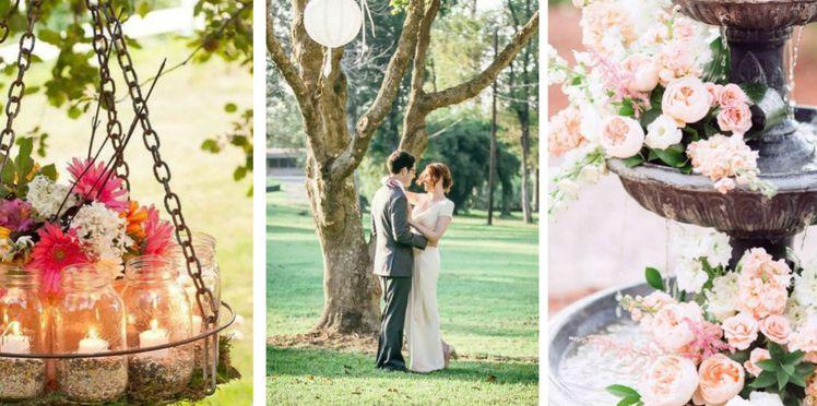 decoration exterieur pour un mariage