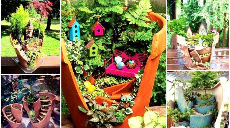 decoration exterieur recycle