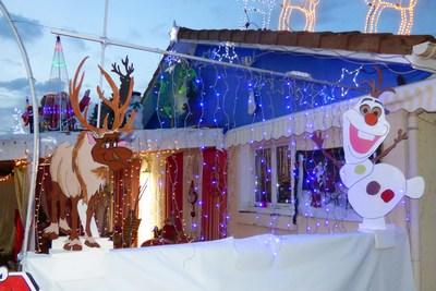 decoration exterieur reine des neiges