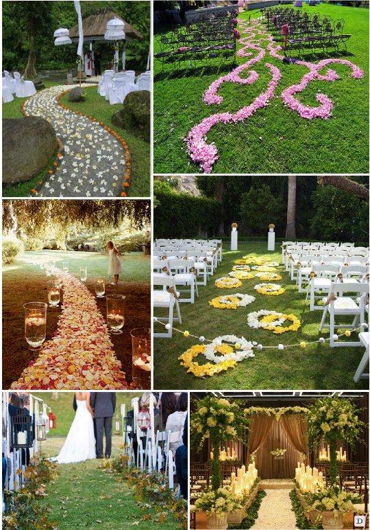 decoration exterieur salle mariage