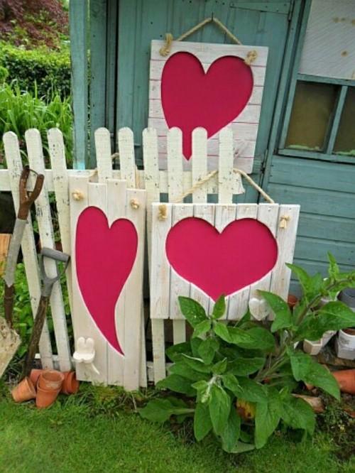 decoration exterieur st valentin