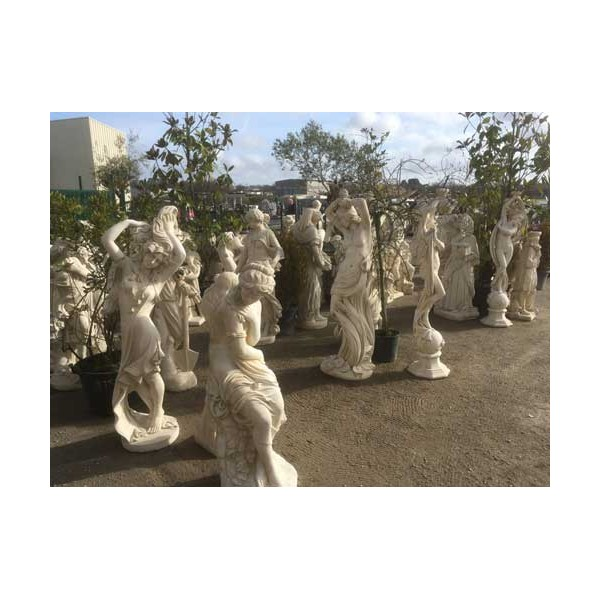 decoration exterieur statues