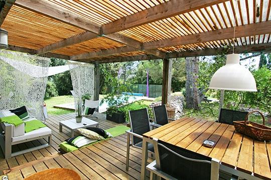 decoration exterieur terrasse bois