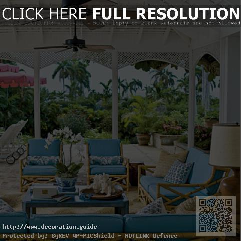 decoration exterieur veranda