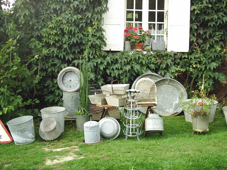decoration jardin ancien