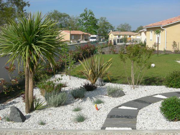 decoration jardin avec palmier