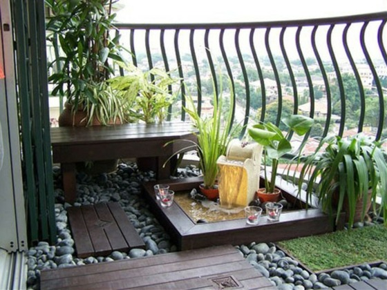 decoration jardin balcon