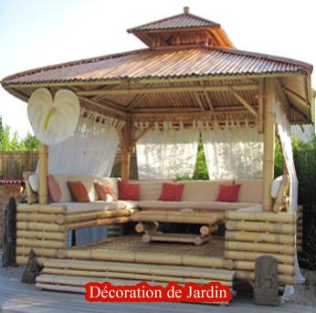 Emejing Maison De Jardin En Bambou Photos - House Design ...