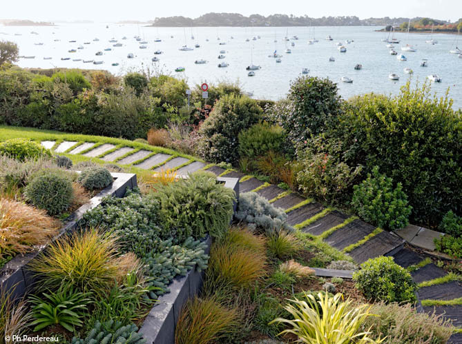 decoration jardin bord de mer